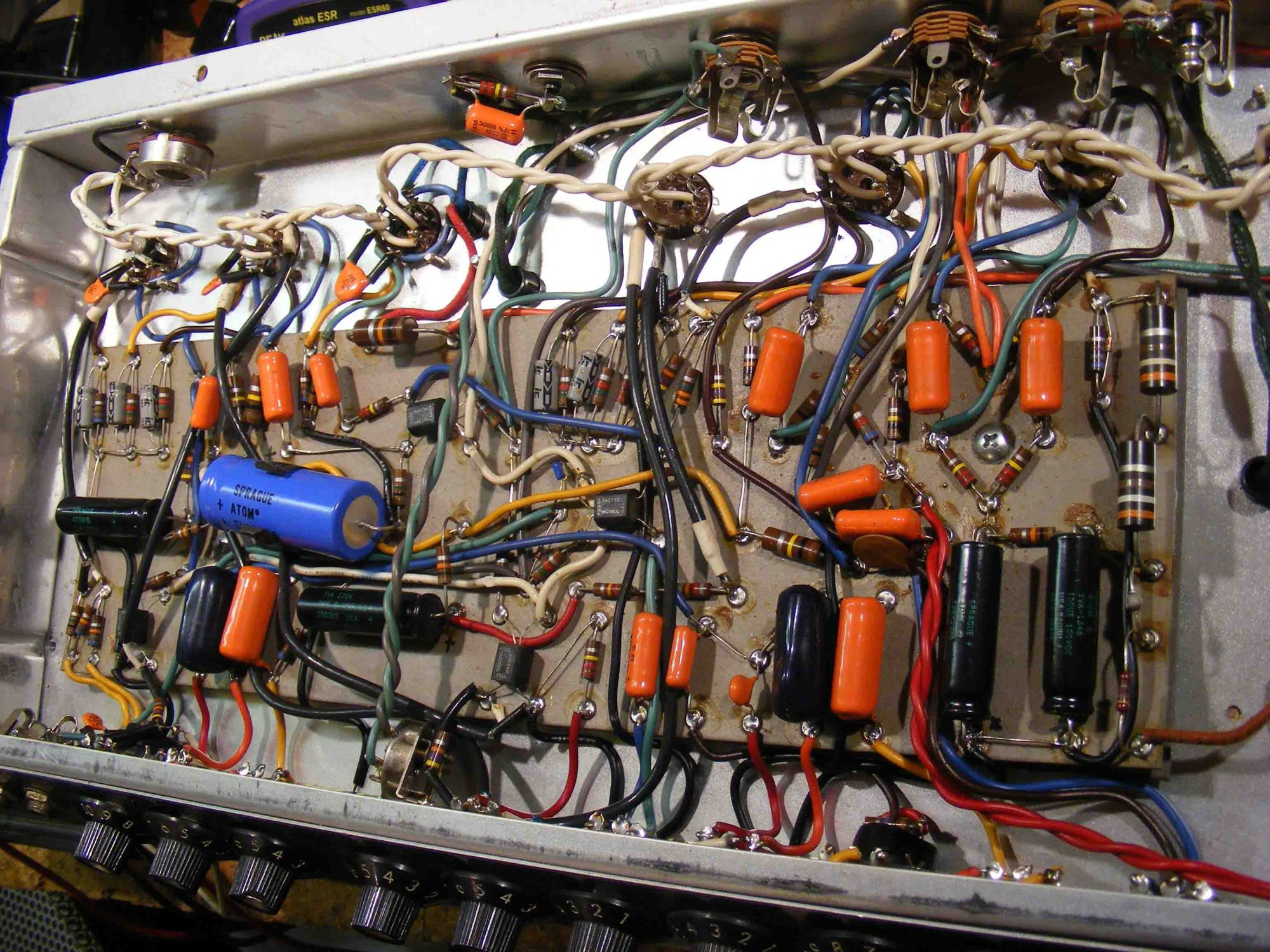 hight resolution of fender deluxe reverb ii repair rh jpfamps com fender twin reverb twin reverb wiring diagram