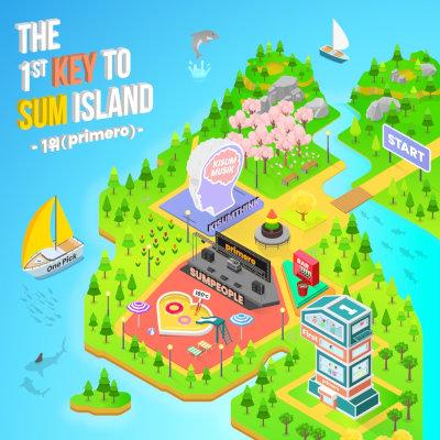 Kisum (키썸) - THE 1st KEY TO SUM ISLAND rar