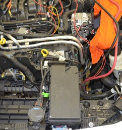 preparing to install the dual battery system 2012 jku next we removed the fuse box 2012 wrangler  [ 4928 x 3264 Pixel ]