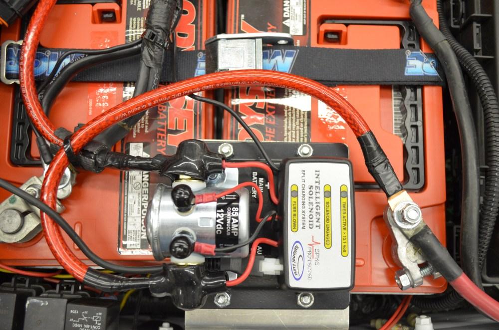 medium resolution of national luna intelligent battery solenoid installed 2012 jku