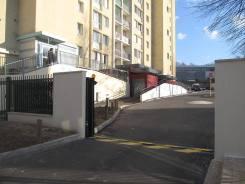 Mise en place d'un portail coulissant