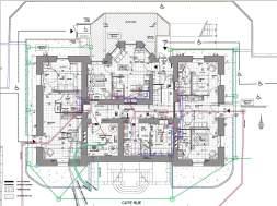 Plan du rez-de-chaussée bas