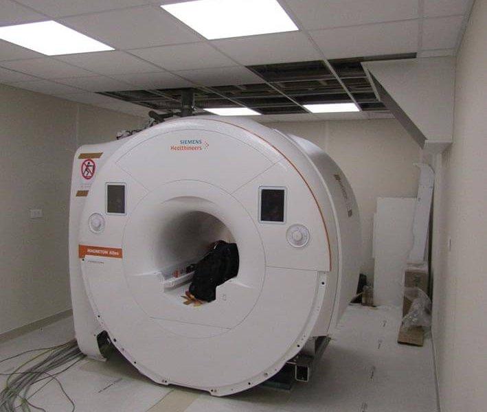 Installation de l'IRM