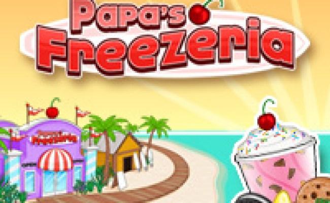 Papa S Freezeria Play Papa S Freezeria At Hoodamath
