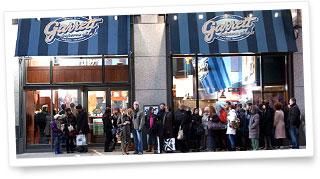 シカゴにあるギャレット ポップコーン ショップス® フラッグシップショップ