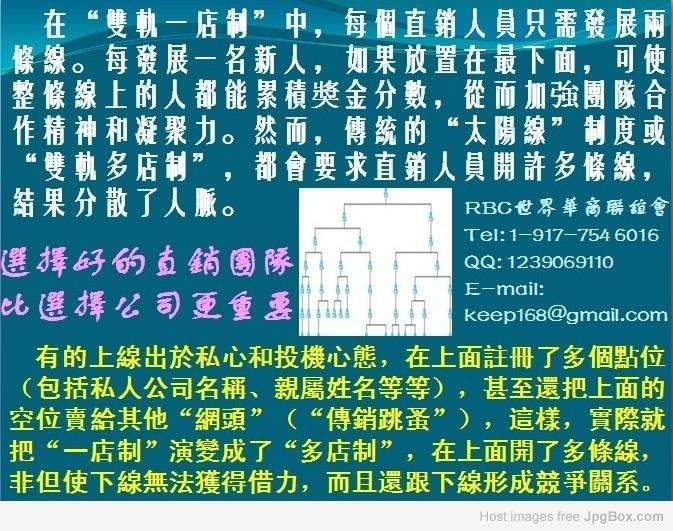 RBC世界華商聯誼會受理臺灣新加坡文萊香港中國等地RBC Life Sciences直銷商投訴並提供咨詢 :: 痞客邦