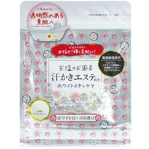 日本製 cosme銷售100萬件 海鹽美肌保濕入浴劑 護膚系列 500g~白玫瑰   日本網路購物 JPGO