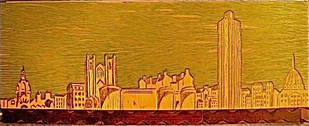 TECHNIQUES  de linogravure, gravure sur linoleum et gravure sur bois (5/6)