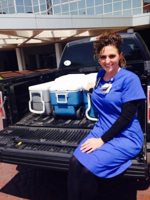 Lisa Wagner, RN, a student at UTHealth School of Public Health