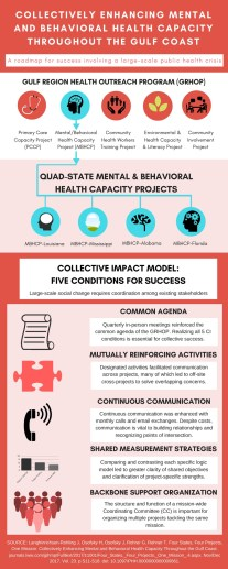 Collectively Enhancing Mental and Behavioral Health Capacity Throughout the Gulf Coast