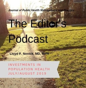 Editor's Podcast Population Health