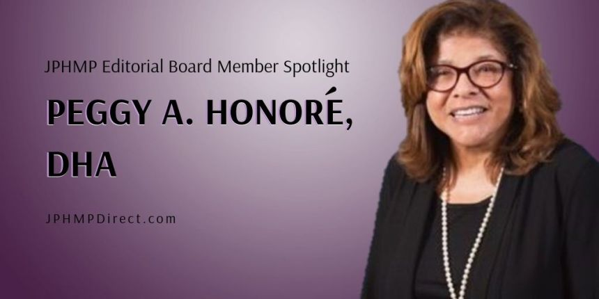 JPHMP Editorial Board Member Spotlight