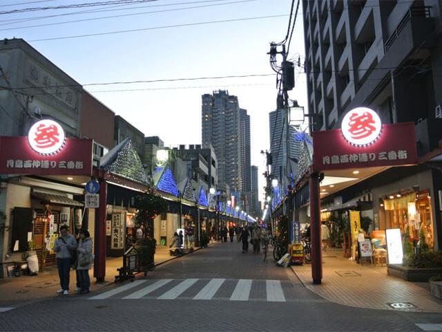 도쿄의 옛 동네 츠키시마