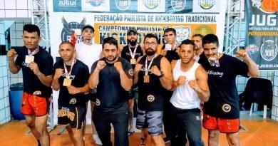 Ibiunenses faturam 8 medalhas no Paulista de Kickboxing