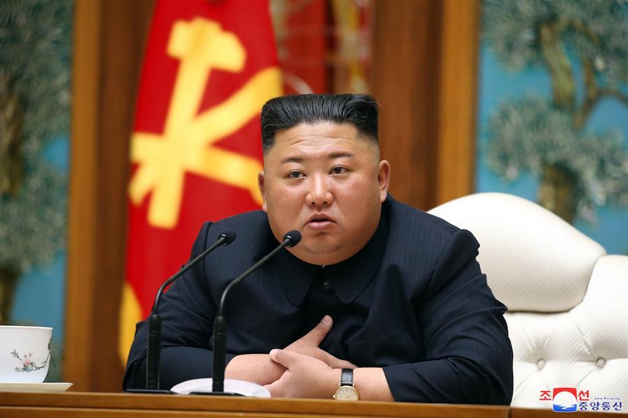 Coreia do Norte: Kim Jong-un reaparece em público para homenagear avô |  Jovem Pan