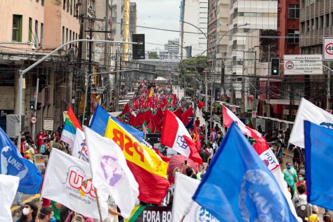Protesto em Recife - 19 de junho