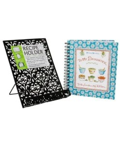 To My Daughter & Recipe Book And Stand 2 Set