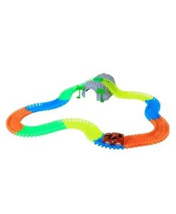 Set Up Glow in the Dark Car Track - Boredom Busters