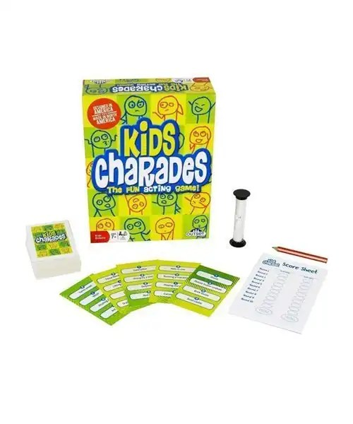 Kids Charades Game Box - The Fun Acting Game