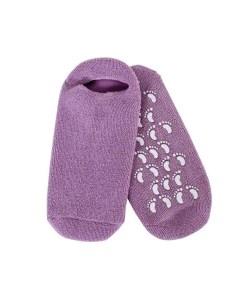 Blissful Moisturizing Gel Socks (Purple)