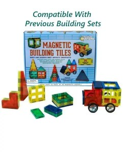 Magnetic Building Tiles - Compatible With