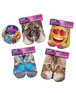 Cool Socks 4 Uniquely Designed Pair