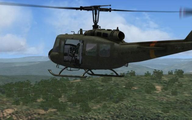 Aerosoft lance le Bell UH-1