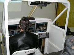 Simulateur Beechcraft - Michel Quintin