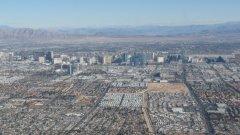 La Strip de Las Vegas.