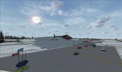L'aéroport de St-Georges sous FSX