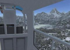 Mont Assiniboine sur flight simulator X