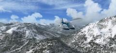 Le Mont Norquay sur flight simulator X