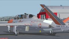 Le Fouga CM-175 Zephyr en virtuel