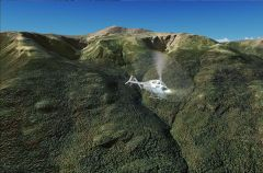 Les whites mountains pour FSX