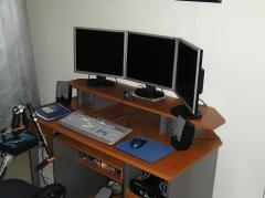 Simulateur trois écrans avec Triplehead2go