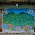 Mountain Village mural.