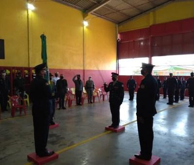 Novo comandante bombeiro