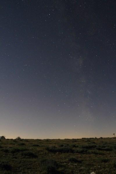 Sous la Voie Lactée - Observatoire de la Côte d'Azur, Site de Calern