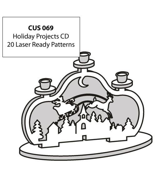 LaserBits CorelDRAW Design Patterns (Holiday Projects)