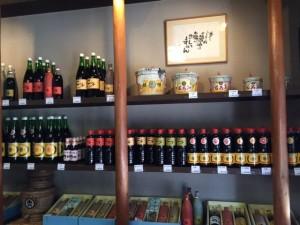 松野醤油店 店内
