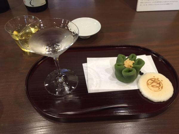 京都・室町下長者町 おづ京都 日本酒×和菓子