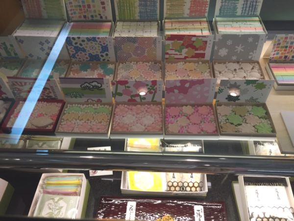 京都・四条堀川 かわいい和菓子!亀屋良長