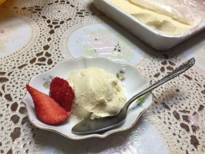 sake icecream
