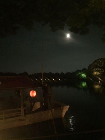 京都 大覚寺の観月の夕べ 2016