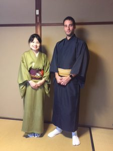 京都で茶道体験 アルゼンチン
