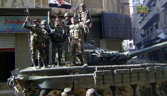 الجيش يسيطر على بلدة البحارية والمزارع المحيطة بها بريف دمشق