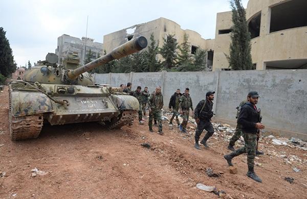 الجيش السوري يسيطر على تل الشقيف ويتابع تقدمه في حلب