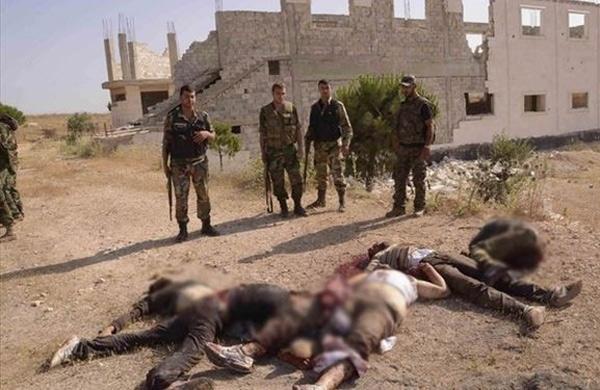 مقتل وإصابة ٤٩ مسلح من
