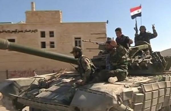 الجيش السوري يحقق تقدما هاما في منطقة خان الشيح بريف دمشق الجنوبي الغربي