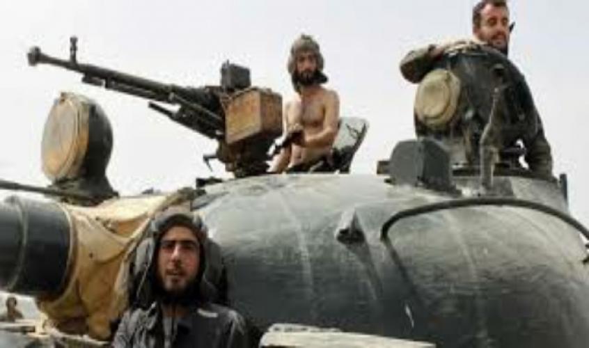 تعزيزات عسكرية كبيرة إلى حلب